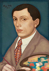 Self Portrait By Eugene Zak
