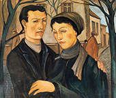 The Couple on The Street By Eugene Zak