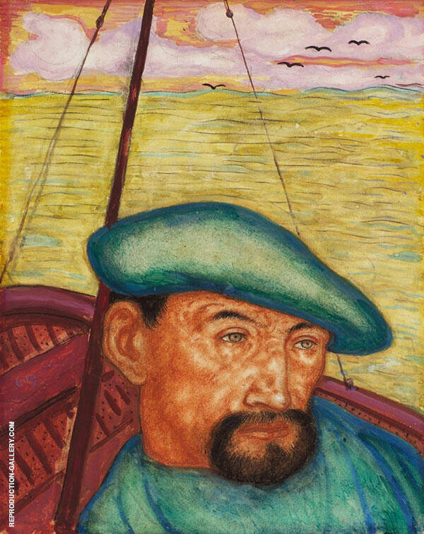 The Sailor Painting By Eugene Zak - Reproduction Gallery