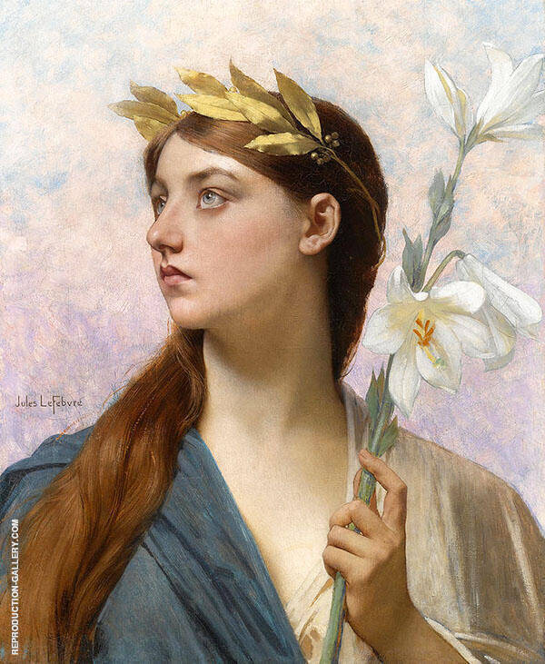 An Allegory of Victory By Jules Joseph Lefebvre