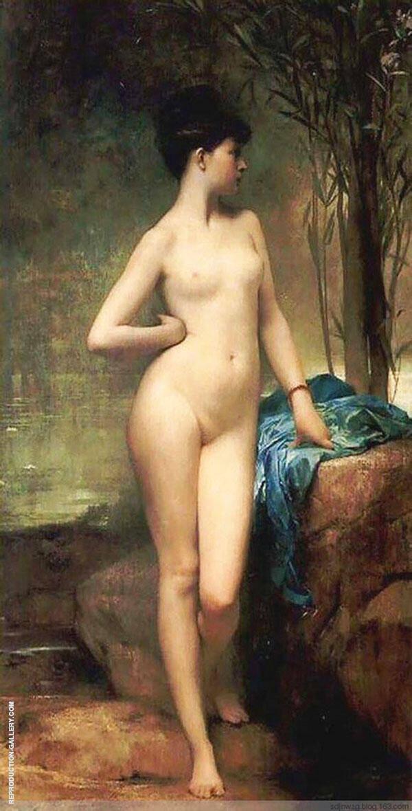 Chloe 1875 By Jules Joseph Lefebvre