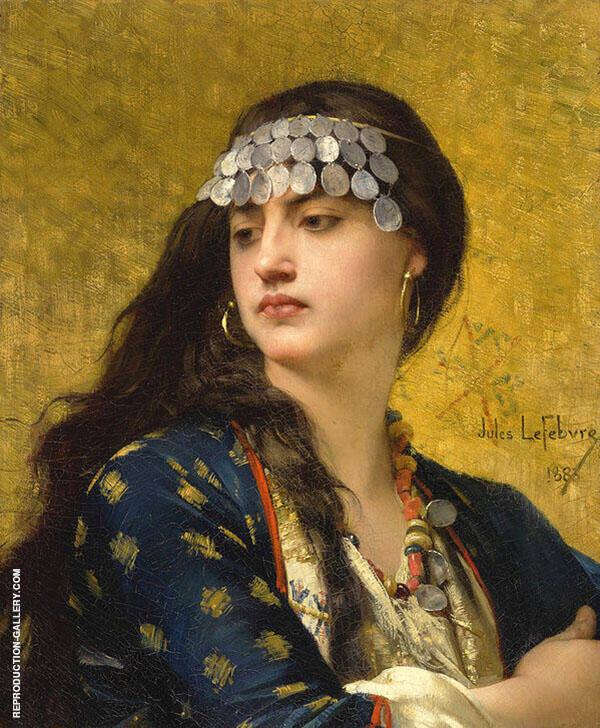 Fatima By Jules Joseph Lefebvre