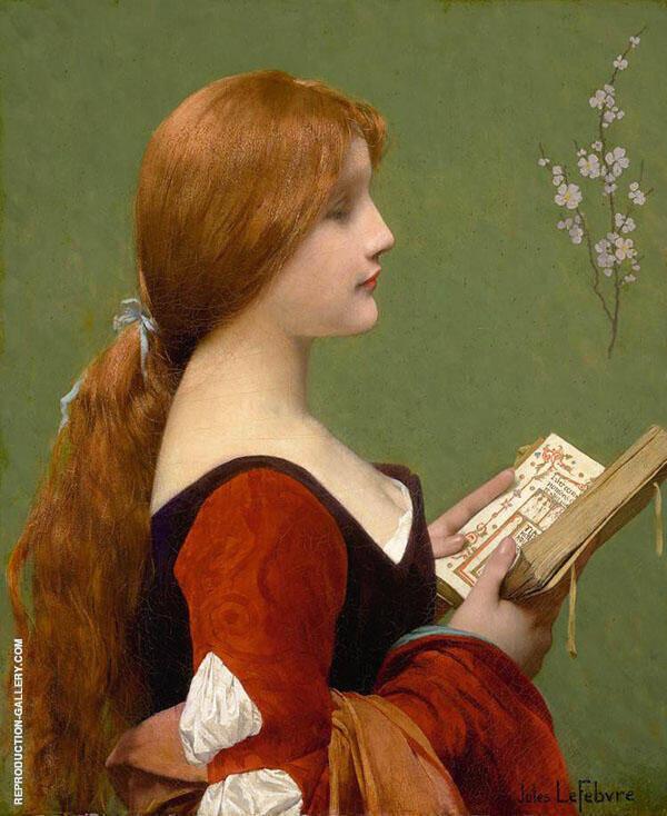 Jeanne la Rousse By Jules Joseph Lefebvre