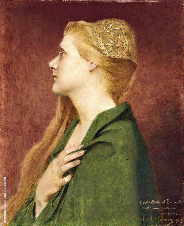 Lady Godiva By Jules Joseph Lefebvre