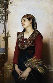 Mediterranean Beauty By Jules Joseph Lefebvre