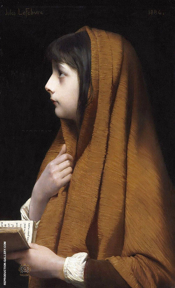 Mignon Painting By Jules Joseph Lefebvre - Reproduction Gallery