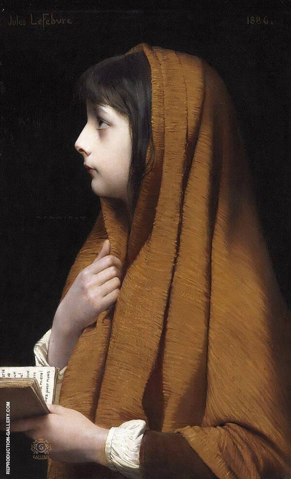 Mignon By Jules Joseph Lefebvre
