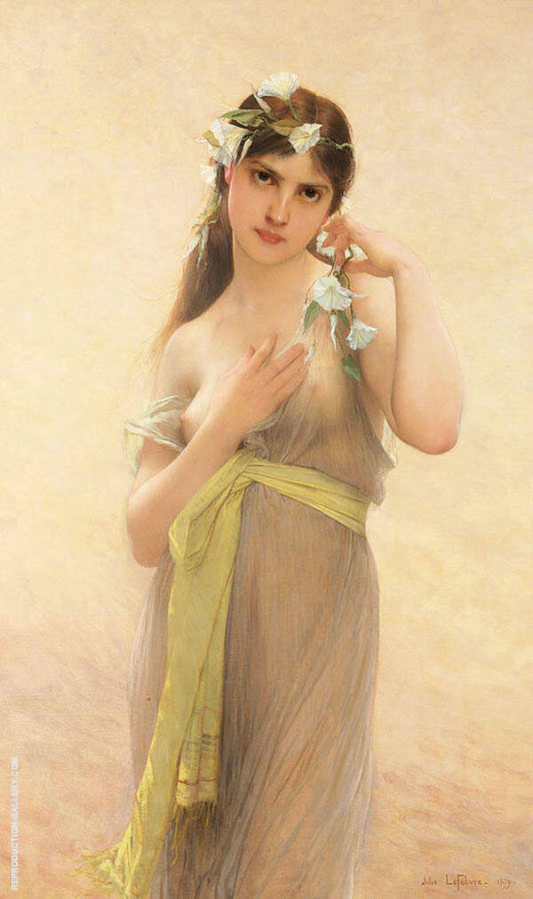 Morning Glory Painting By Jules Joseph Lefebvre - Reproduction Gallery