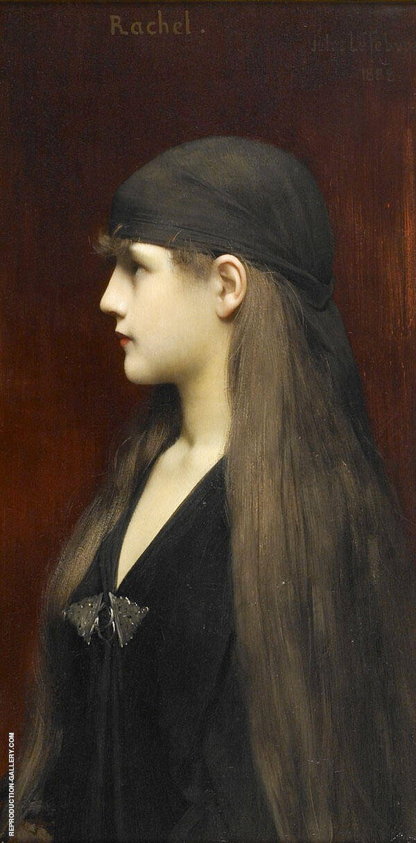Rachel Painting By Jules Joseph Lefebvre - Reproduction Gallery
