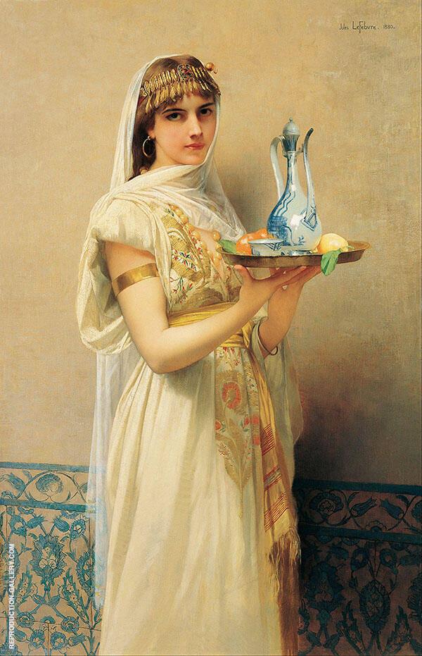 The Servant By Jules Joseph Lefebvre