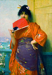 Une Japonaise By Jules Joseph Lefebvre