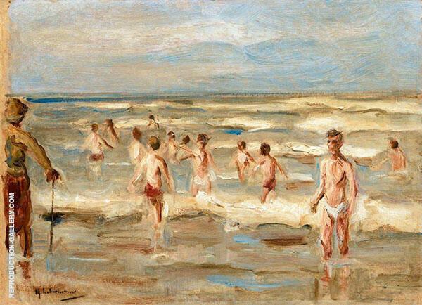 Bathing Boys 1899 By Max Liebermann