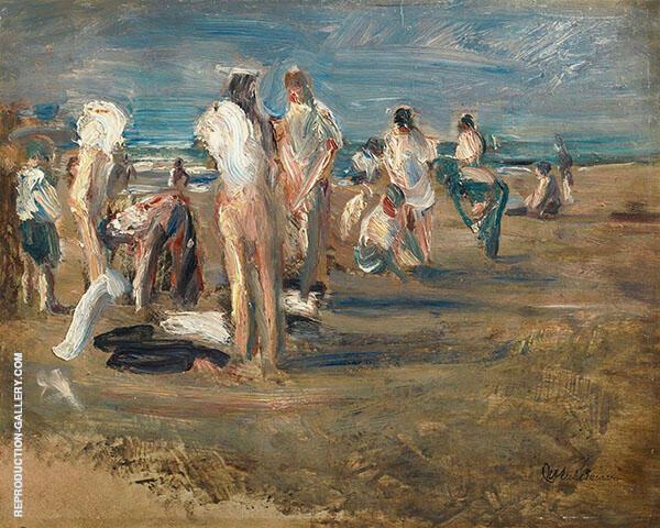 Bathing Boys c1899 By Max Liebermann