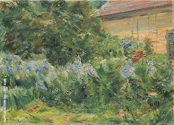 Flowers on The Gardener's Cottage to The Northwest 1926 By Max Liebermann