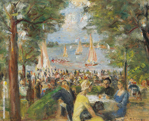 Garden Bar on The Havel By Max Liebermann