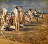 On The Shores of Lake Maggiore By Max Liebermann