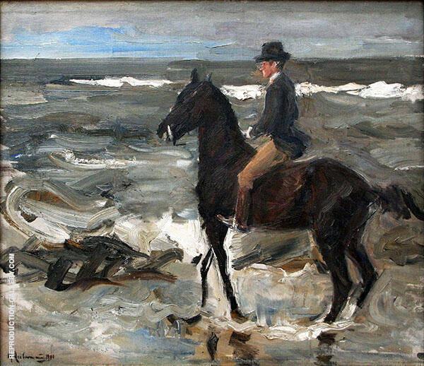 Rider on The Beach 1904 By Max Liebermann