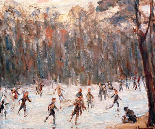 Skater in The Tiergarten By Max Liebermann