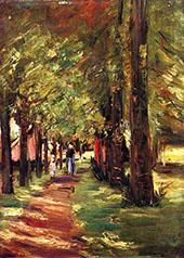 The Lane 1913 By Max Liebermann