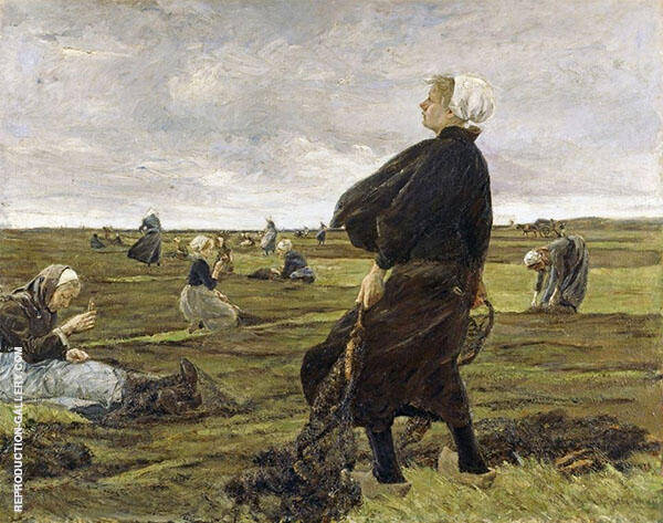 The Net Menders By Max Liebermann