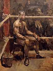 Negro Boxer (Battling Siki) c1914 By Isaac Israels