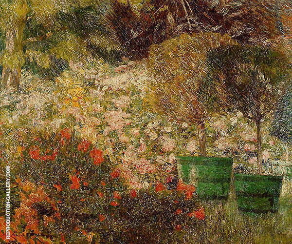 A Corner of My Garden 1904 By Emile Claus