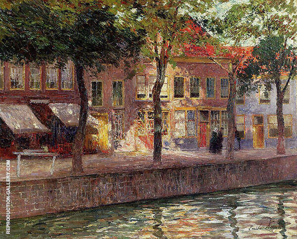 Canal in Zeeland 1896 By Emile Claus
