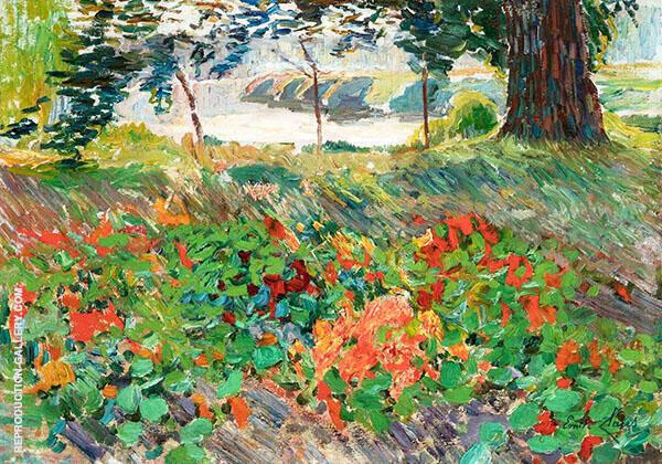Capucine Flowers 1901 By Emile Claus
