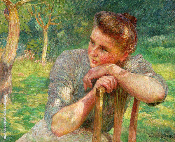 Celina 1903 By Emile Claus