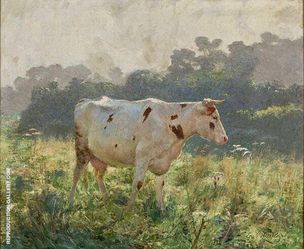Cow By Emile Claus