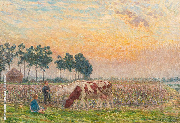 Decline of Day By Emile Claus