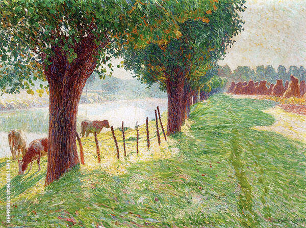 End of August 1909 By Emile Claus