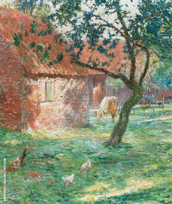 Farmyard 1906 By Emile Claus