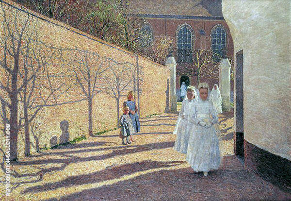 First Communion 1893 By Emile Claus