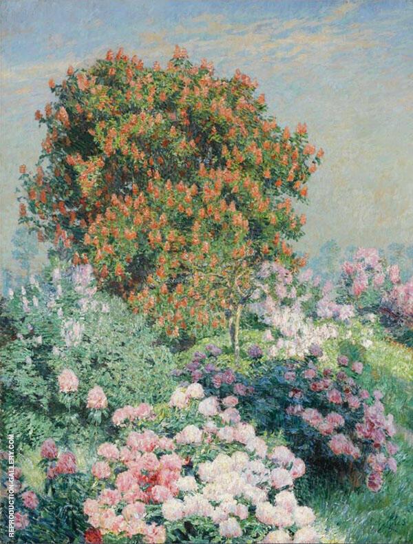 Flower Garden By Emile Claus