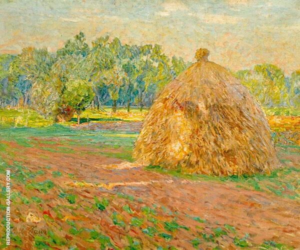 Haystacks By Emile Claus
