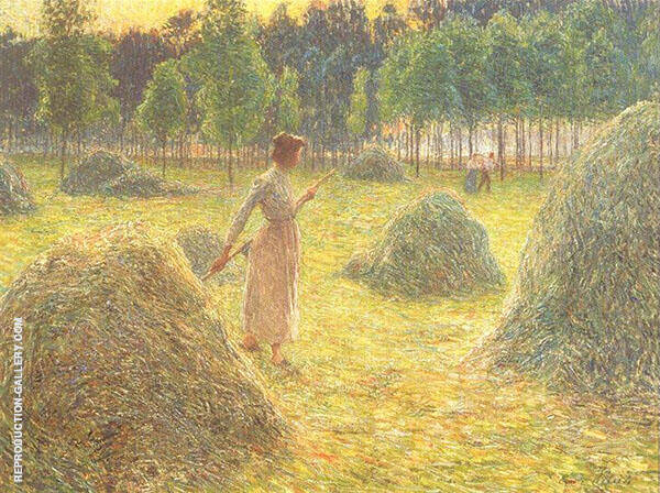 Hay Stacks 1905 By Emile Claus