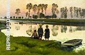 Le Bateau Qui Passe By Emile Claus