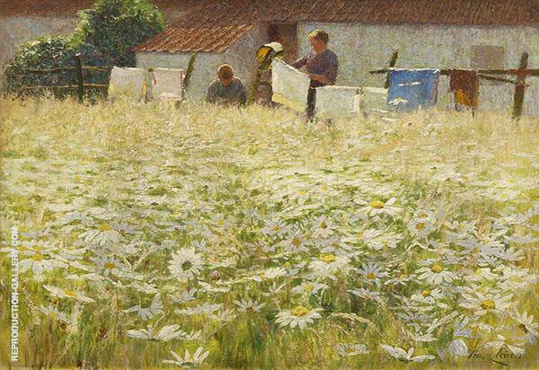 Les Marguerittes 1897 By Emile Claus