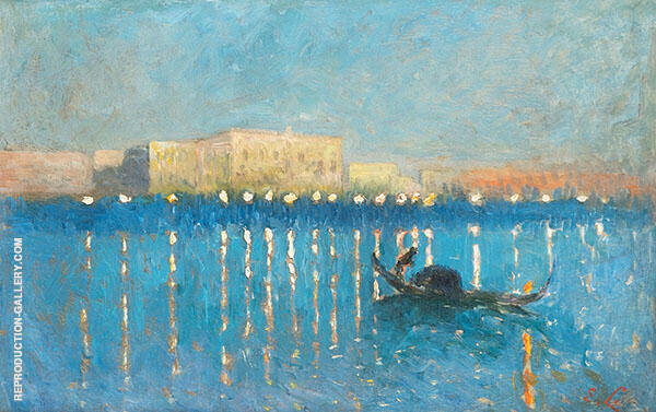 Night in Venice 1906 By Emile Claus