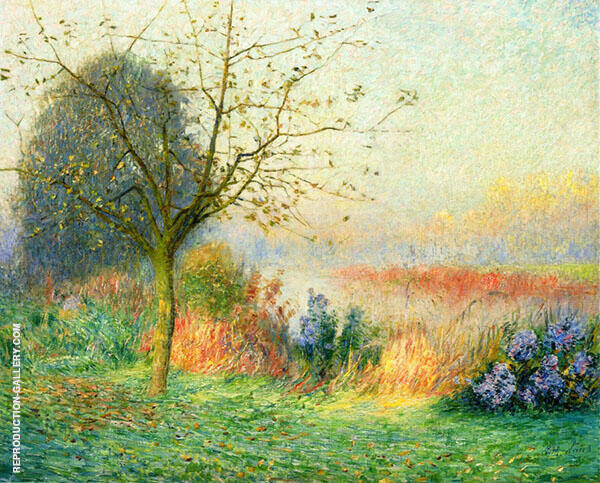 October Morning on The River Leie 1901 By Emile Claus