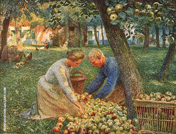 Orchard in Flanders By Emile Claus