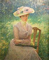 Portrait Jenny Montigny 1902 By Emile Claus