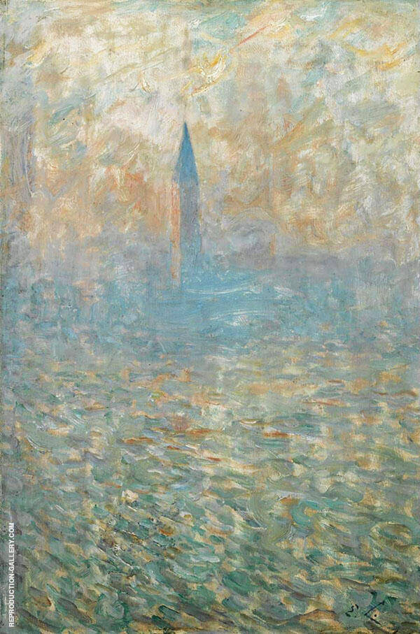 San Giorgio Venice Painting By Emile Claus - Reproduction Gallery
