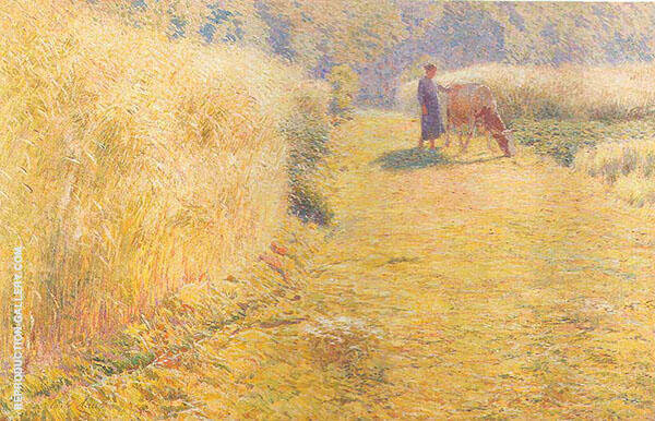 Summer Painting By Emile Claus - Reproduction Gallery