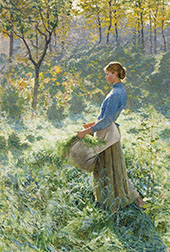 Summer Morning 1891 By Emile Claus