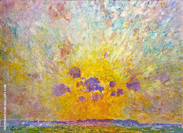 Sunglow Painting By Emile Claus - Reproduction Gallery