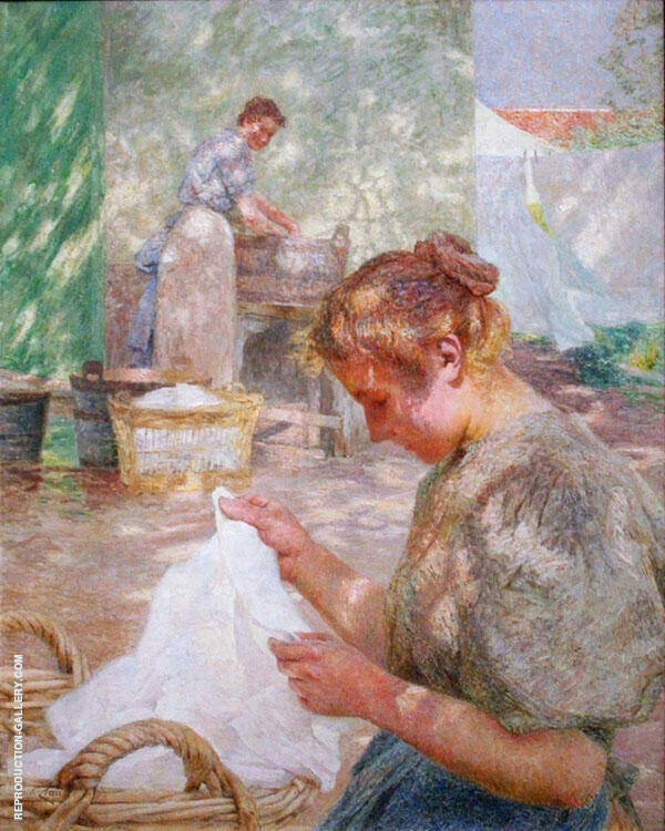 Sunny Day Painting By Emile Claus - Reproduction Gallery