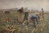 The Beet Harvest 1890 By Emile Claus