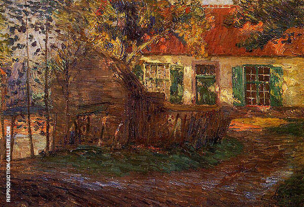The Farm 1904 Painting By Emile Claus - Reproduction Gallery
